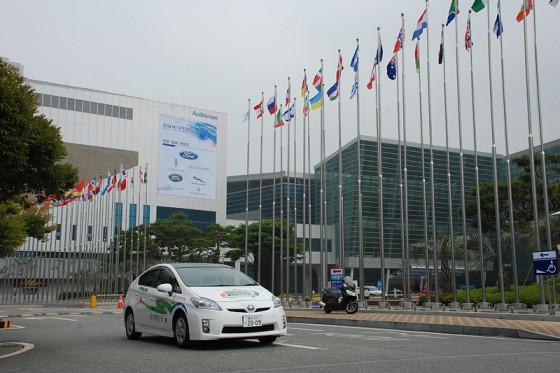 韓国での1,100kmの旅が間もなく終わりを迎える