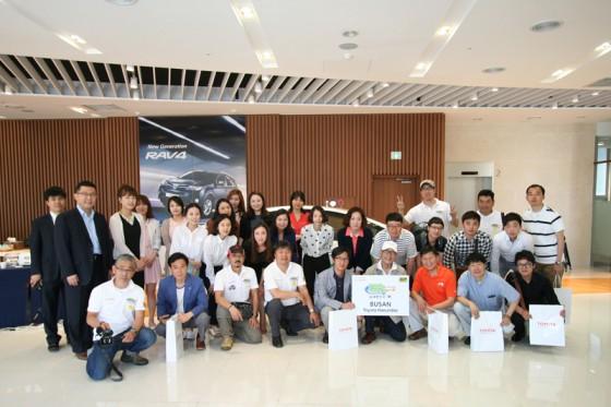 エコミッション@韓国最後の集合写真。お世話になった皆さんありがとう!