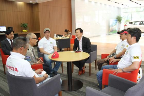 Lexus YM  Toyota YM の社長兼CEOのSang Je Sungさん