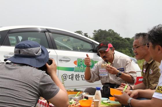 韓国のカーマガジン「自動車生活(カーライフマガジン)」が同行取材