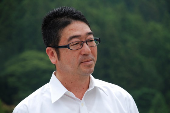 案内していただいた有田川町ふるさと開発公社の小和田さん