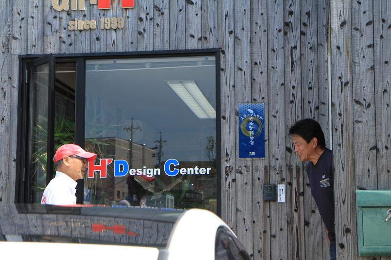 """津市の中心街にあるair-H'オフィスに""""空飛ぶサンタ""""を訪ねた."""