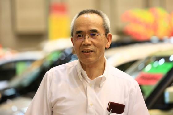 イベント準備に奔走していただいたトヨタカローラ山梨の平井さん