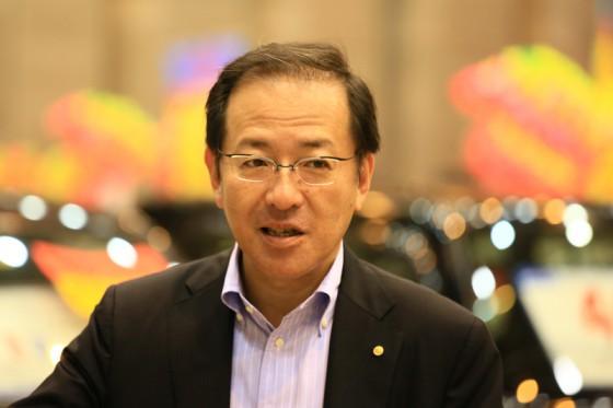 山梨トヨペット社長の高野さんも来場されていた。
