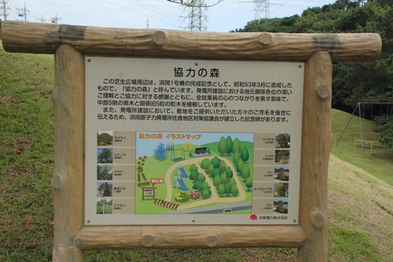 地元地権者との関わりを表す公園を併設している。