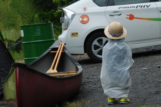 火を使わないキャンプは小さな子供にもやさしい。
