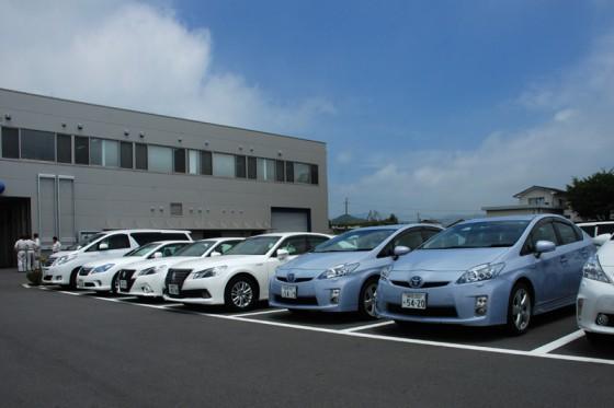 グロージオが所有するトヨタのハイブリットラインナップ。
