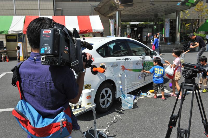 KRY山口放送さんをはじめ沢山のメディア取材があった。