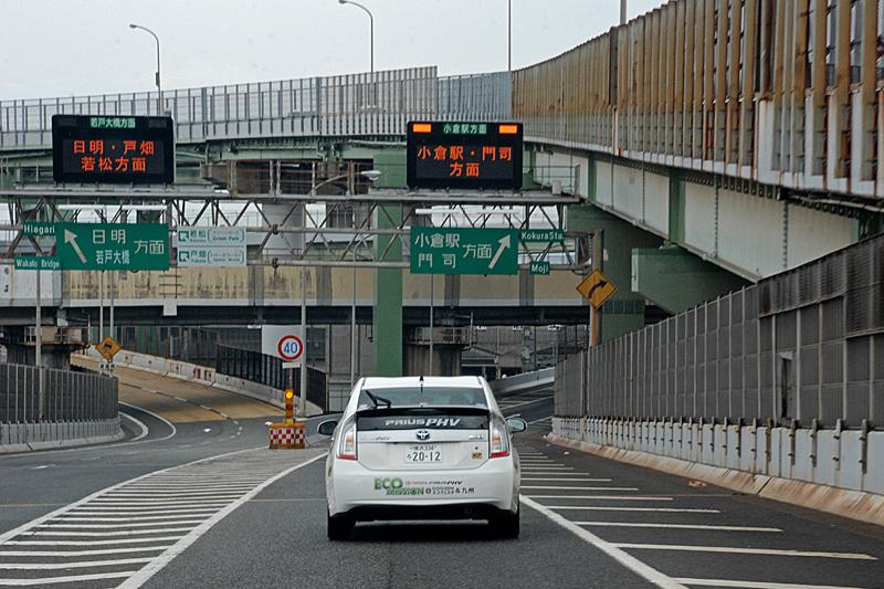 北九州都市高速4号線で小倉駅へ向かう。