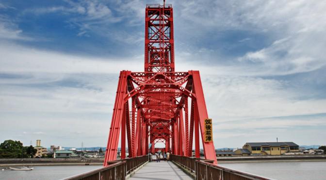 国指定重要文化財「筑後川昇開橋」は機械遺産としても登録されている。