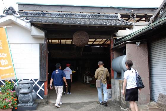 河童のいる酒蔵として有名な「松浦一酒造」を訪問。