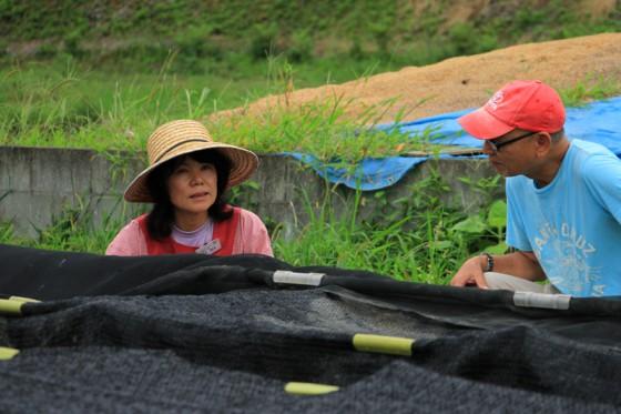 わずか2年で栽培に成功した正助ふるさと村の瀬井さん。