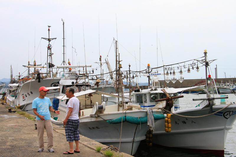 九州で一番漁船が多く、漁獲高も一番。