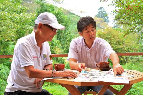 森林セラピストの西さんに、市房山麓の原生林について話を伺った。