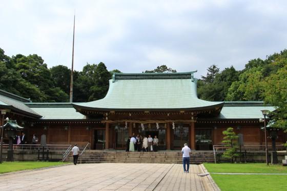大分護国神社を参拝した。