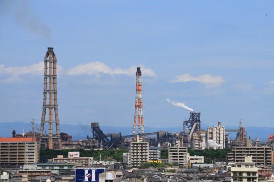 総出力229.5万kWを誇る九州最大の「新大分火力発電所」はフル稼働している。