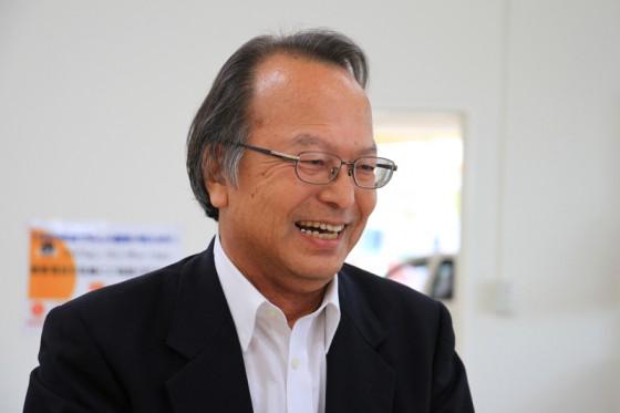 取締役の福成さんも会場に足を運んでくれた。