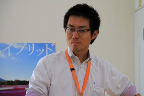 営業企画室の若手ホープ牟田さん。