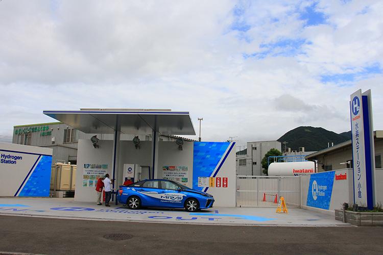 九州初の商用水素ステーション「イワタニ水素ステーション 小倉」